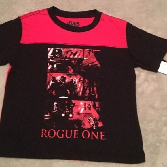 f1e0cd9e Star Wars Shirts & Tops | Nwt Rogue One Boys Size Xs T Shirt | Poshmark